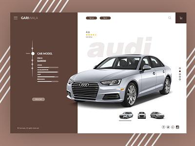 Gariwala Website ui redesign concept web design webdesign ux ui