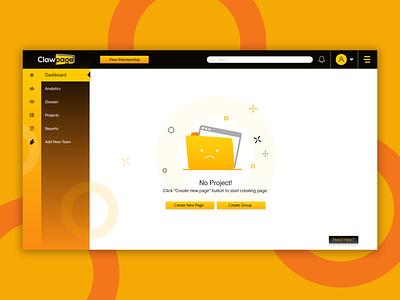 Claw Page Dashboard UI dashboard ui ux ui