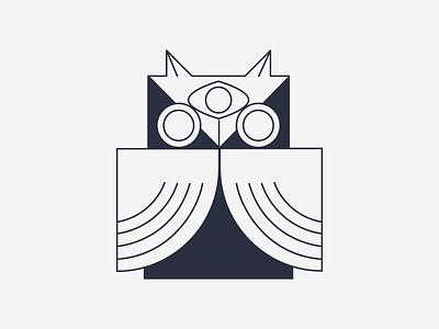 3-Eyed Owl vector illustrator imaginarybeasts owl