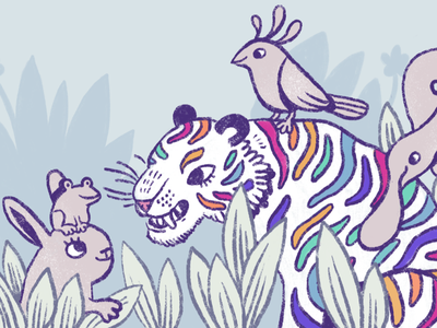 Pride at Work: 50 Ways You Can Show Up as an Ally lgbtqia animals inclusivity diversity illustration