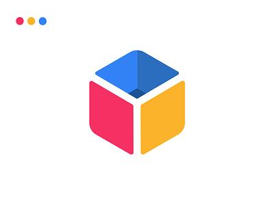 Inventory SaaS Application Logo vector 2020 saas design saas saas app flat web app icon branding logo design