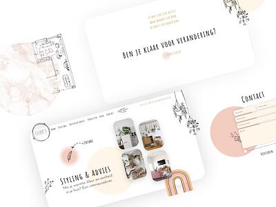 Lilous Interior Design Website Design website design website interior designer web ux branding 2020 design webdesign draw female