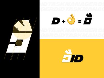 Did Task Manager Logo Design logo design emoji ok vector app logo design app logo app logo branding design 2020
