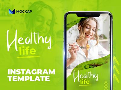 Healthy life - Instagram template