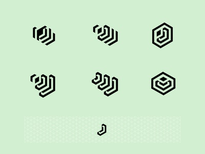 The letter J logo