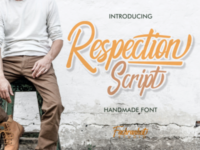 Respection Script discount deals only $1 only $1 typography font awesome font branding font design logo design