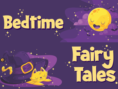 Bedtime Fairy Tales (Scary Dream Font ) halloween party halloween display fancy font funny charracter vector logotype typography design branding logo font awesome font font design