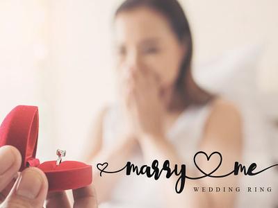 Marry Me (Love Lovely Font) charracter illustration vector logotype typography design logo branding font awesome font font design