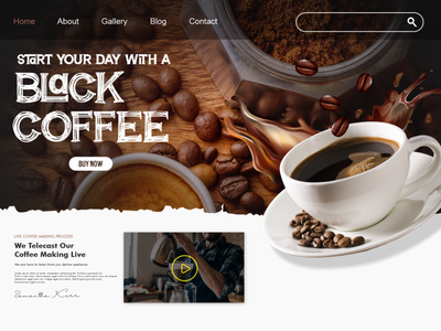 Black Coffee | Breaking Spawn Font flat website logotype vector logo font design branding typography font awesome font