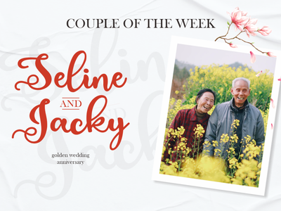 Couple of The Week (Estephany Script) cute caligraphy love script wedding couple photo quote illustration vector design typography logo branding font design font awesome font