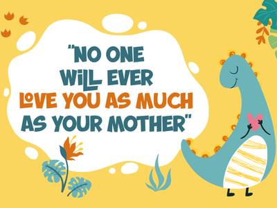 Mother's Love mother day mother fancy funny comic cartoon cute cool graphic design vector illustration typography font design branding logo design font awesome font