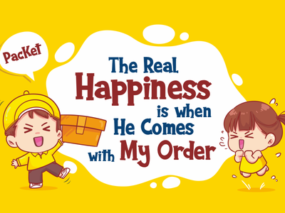 Quotes of the day (KaNg PacKet Font) cartoon delivery packet display fancy funny cute cool quotes illustration branding logo vector design font design typography font awesome font