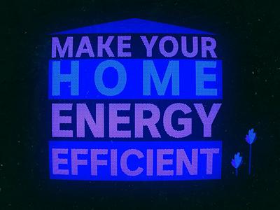 Energy efficiency titles typography type vector illustrator design illustration