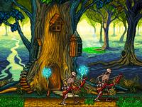 Pixel art RPG game for mobile phones