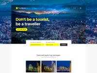 Travelpore - Travel Landing Page