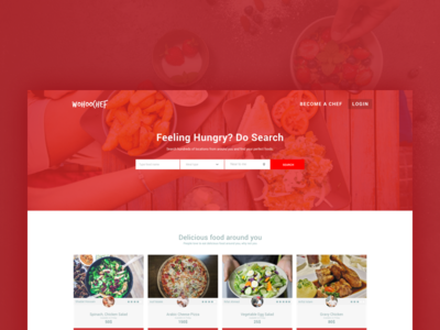 Wohoochef - Food Delivery Service delivery service delivery app meal food and drink food app food