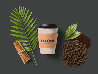 FatOwl Branding illustration design gastropub pub restaurant restaurant branding logodesign logo identity design branding