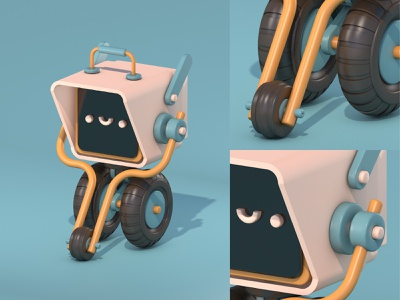 Not your regular PC... isometric design illustraion cinema4d c4d 3d art 3d
