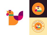 Happy Chicken Logo
