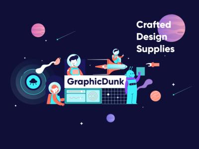 Graphicdunk - Holaa Dribbble
