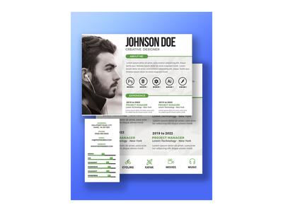 resume Ui design