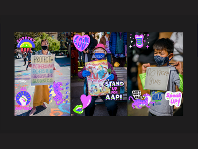 2021 AAPI Heritage Month GIPHY Pack animated gifs stop asian hate stop aapi hate tigers aapi heritage aapi animation gif animation gif animation gif animated animated gif giphy sticker giphy gifs gif