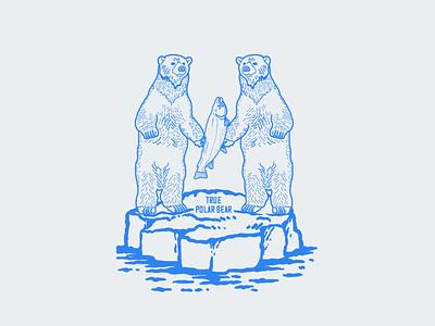 True Polar Bear digital illustrators illustrators illustrator procreate ice animals wildlife arctic circle arctic polar bears polar bear bears digital illustrations digital illustration illustrations illustration