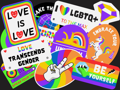 2021 LGBTQ Pride Month GIPHY Pack animation pride month gif animation gifs gif animated gif animated gifs giphy stickers giphy sticker giphy