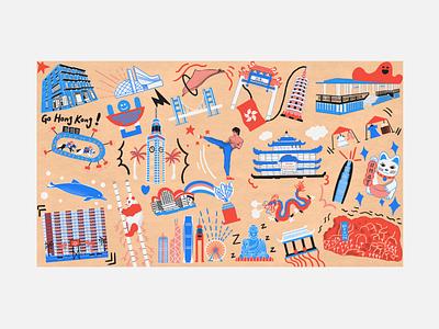 """ Hong Kong , Gone but not forgotten "" Illustration 3 hong kong vibes hk vibes hkg hk hong kong procreate app procreate illustrations procreate illustration illustrators illustrator procreate 5 procreate digital illustrations digital illustration illustrations illustration"