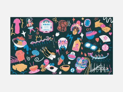 """ Hong Kong , Gone but not forgotten "" Illustration 4 hong kong vibes hk vibes hkg hk hong kong procreate illustrations procreate illustration procreate art procreate digital artist illustrators illustrator digital illustrations digital illustration illustrations illustration"