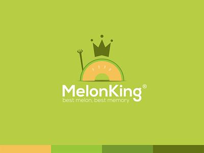 MELON KING melon king melon king logo melon logo melon melon logo melon logo melon design logo logodesign
