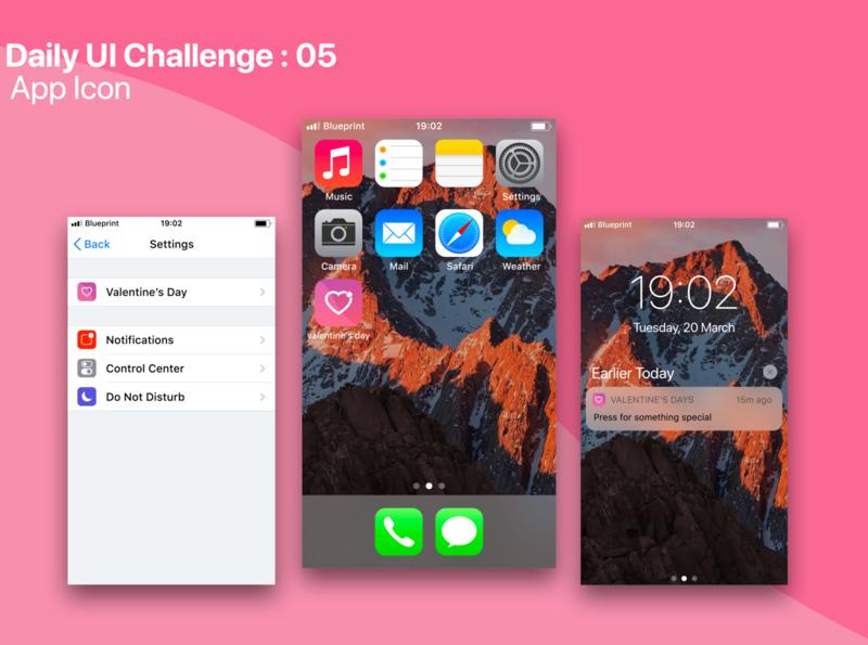 #Daily UI Challenge 05 : App Icon