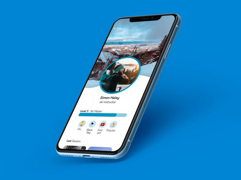 #Daily UI Challenge 06 : User Profil