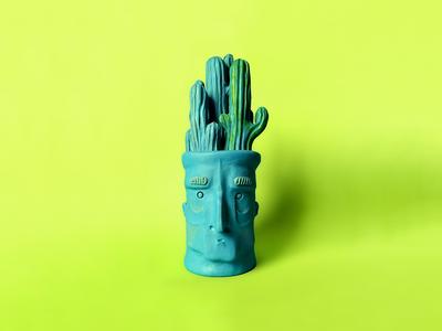 cactushead - testa di cactus