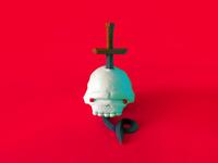 The sword in the skull