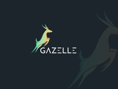 Gazelle logo goats sheep cattle asia africa graceful deer agency gezelle designagency freelancer design brandidentity upwork illustration logoexcellent fiverr