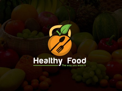 Healthy food foodie vegetal brandidentity freelancer logo professional logo creativelogo fiverr distinct minimalist healthcare healthere heart nutrition 100 food healthy