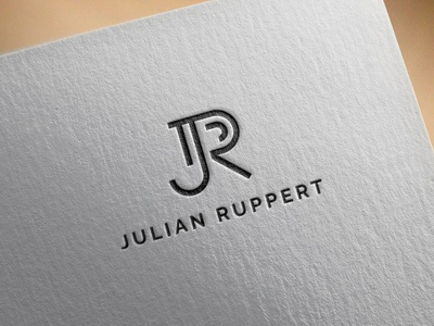 Julian Ruppert logoworld logo distinctive creative branding freelancer logoexcellent illustration creativelogo typography fiverr initials monogram africa canada usa ruppert julian