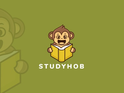 Study Hob distinctive distinct logo symbol graphicdesign logoexcellent illustration creativelogo typography upwork fiverr sketch studysource studying app educational education study