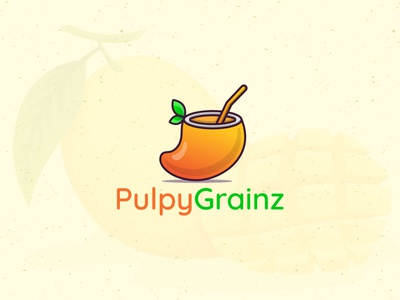 Pulpy Grainz freelancer logo distnctive distinct illustrator adobe photoshop freelancer brandidentity graphicdesign design branding illustration logoexcellent creativelogo typography fiverr grainz puply