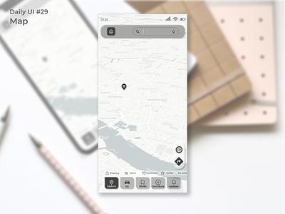 #dailyui #29 Map app design uidesign figma app ui design dailyui
