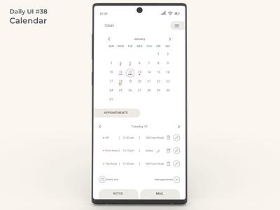 #dailyui #38 Calendar user interface calendar app calendar ui calendar design accessibility user friendly app design appdesign uidesign figma app ui design dailyui