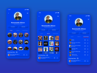 Daily UI 006 – User Profile