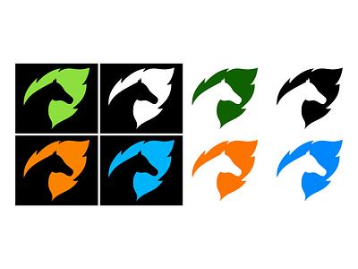 Eco Horse Logo logo
