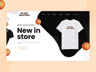 T-Shirt - Landing Page spotify