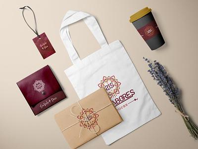 21 Sabores - Identidade Visual vector branding logo design