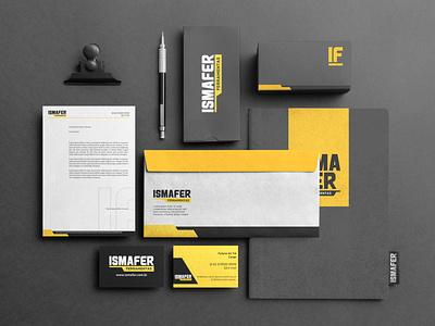 Ismafer Ferramentas - Institucional papelaria stationery logotype design logotype brand identity logo design branding