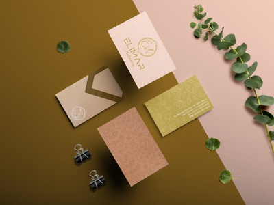 Elimar Multimarcas - Papelaria pattern vector papelaria stationery logotype design logotype brand identity logo design branding