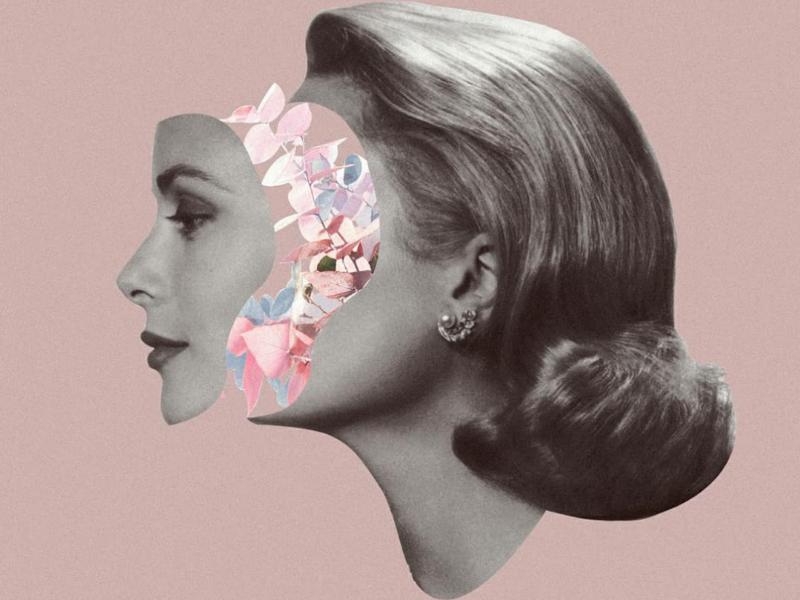 Surrealistic collage