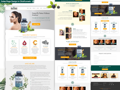 Sales Page Designing in Clickfunnels